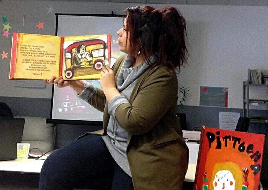 Anaïs Gouveia présente le projet Pitt Ocha, en lien avec les arts du cirque.