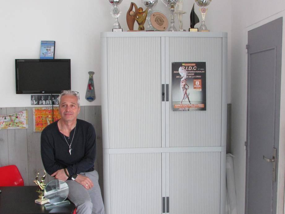 Après vingt-sept ans dans les mêmes locaux, Jean-Marc Contreras s'apprête à déménager dans un espace plus grand en septembre prochain.