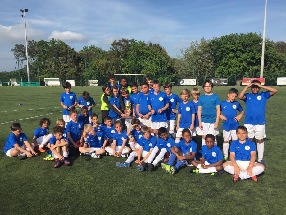 Les jeunes footballeurs disputeront leur propre Coupe du Monde ainsi que leur Ligue des Champions lors du stage d'avril. (A. G.)
