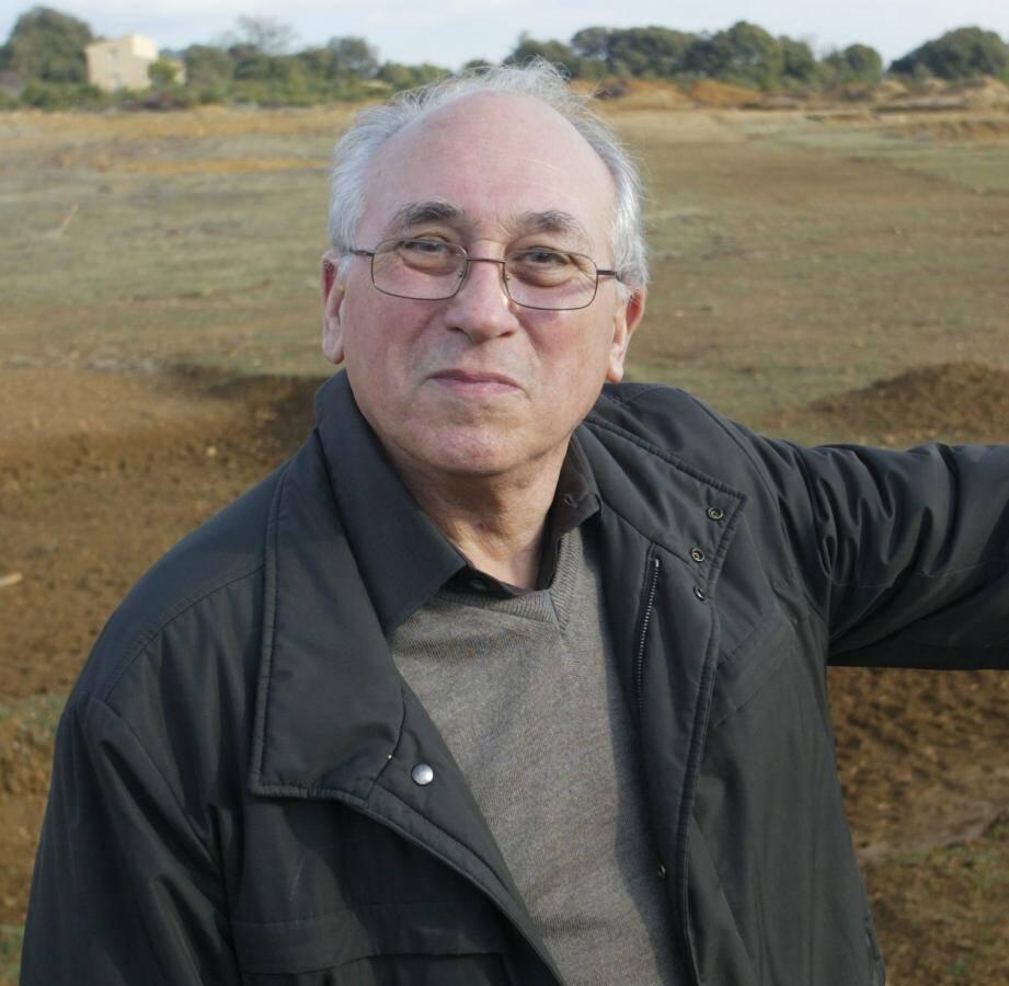 Jean Lainé, maire de Tourtour durant de 1995 à 2008.