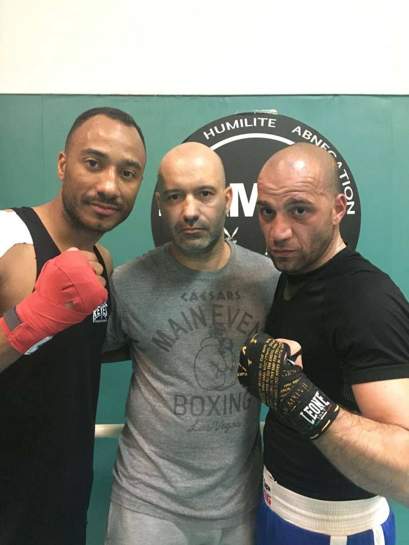 Davide Ferraro, Maxime Brandimarte et Jean-Claude Chomette.(DR)
