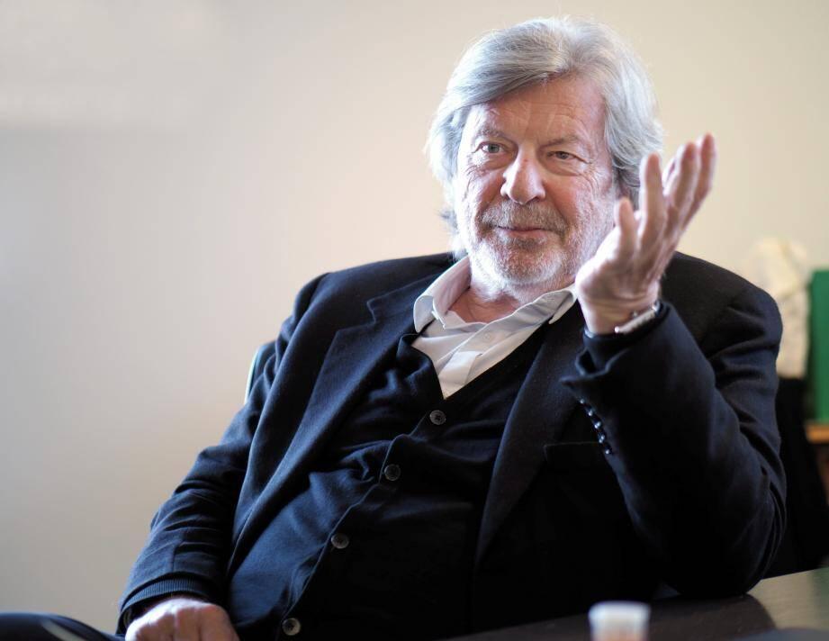Daniel Benoin, directeur du théâtre Anthéa.
