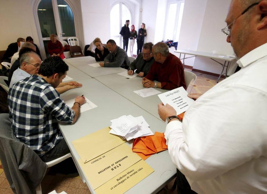 188 Castillonnais ont voté, samedi (sur 292 inscrits sur les listes électorales).