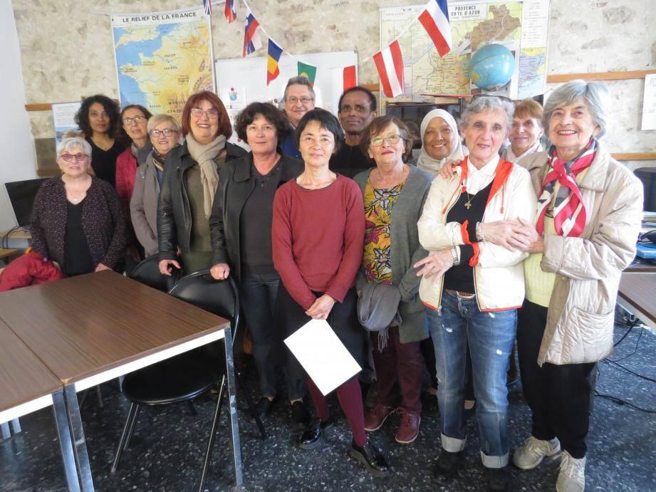 La satisfaction pour l'association est de permettre d'obtenir des concours, tests de niveau de français et titres de séjour.
