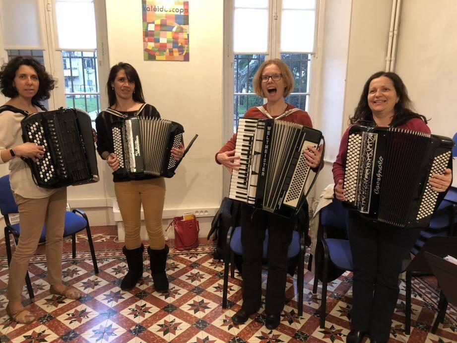 L'accordéon club a formé de nombreux artistes professionnels qui seront sur scène dimanche.
