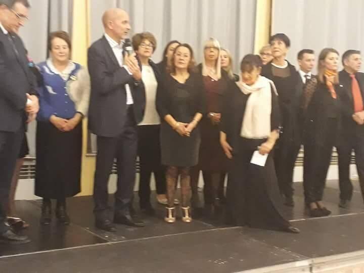 Le premier gala du Lions Club Menton Riviera Haut Pays a accueilli plus de deux cents personnes pour aider l'unité des malades d'Alzheimer de La Palmosa.(DR)