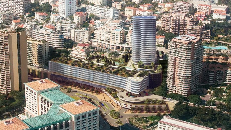 La tour Testimonio II, et ses 150 logements domaniaux livrés en 2021, pourrait accueillir une « jumelle » Testimonio III (à sa gauche sur la photo).