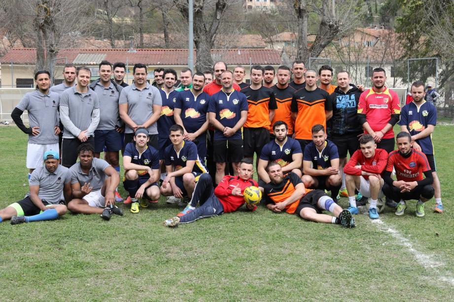 Le pari « famille, respect et loisir » visé par le club Sospel FC sur ce tournoi a été gagné.
