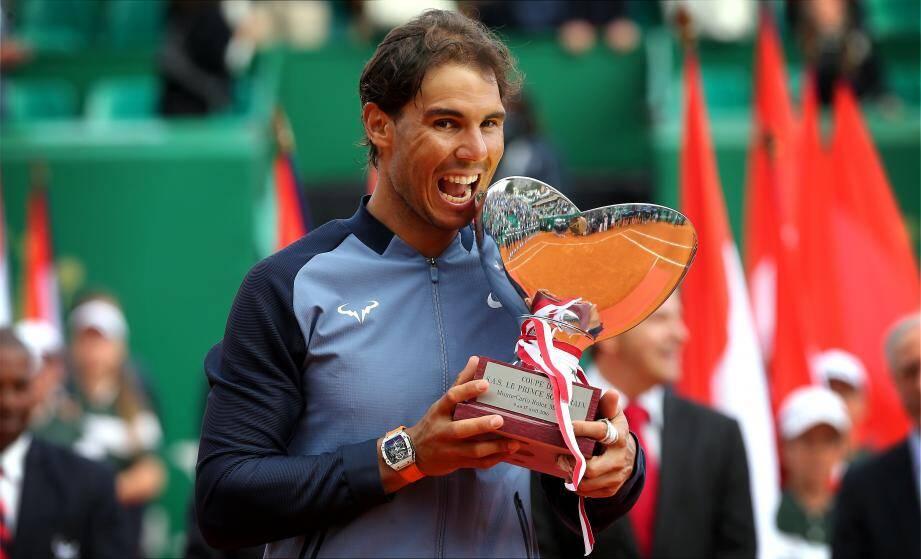 Après sa dixième victoire l'an passé, Rafael Nadal espère bien repousser un peu plus loin son record de trophées en Principauté.