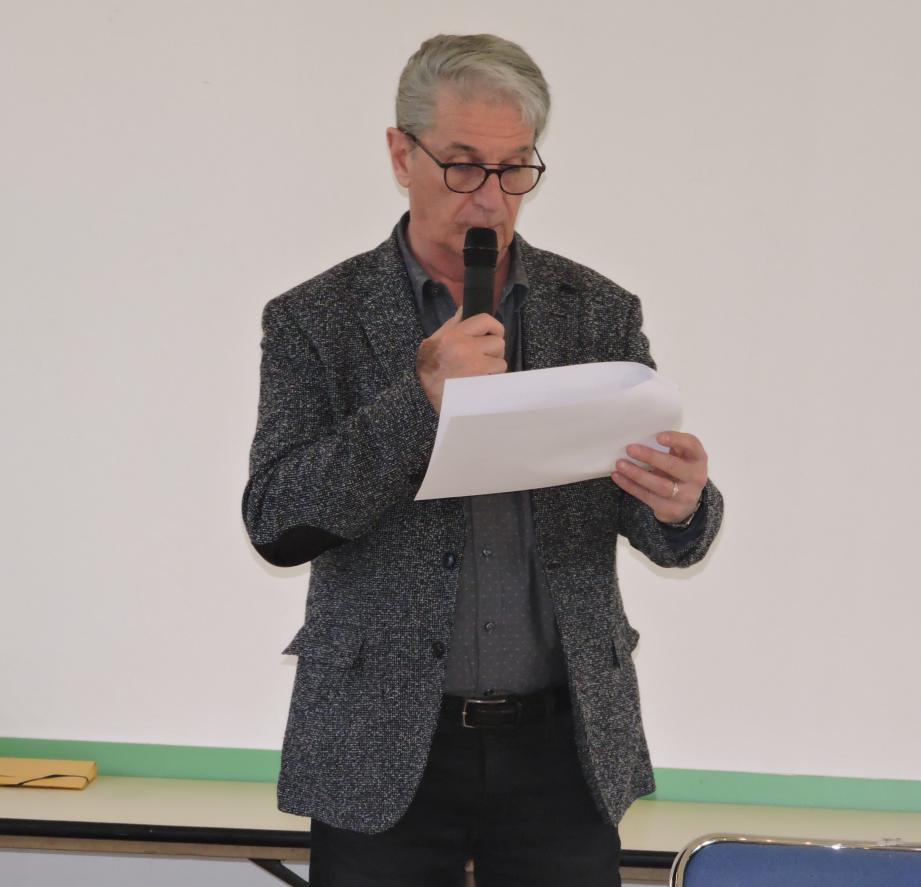 Michel Moumdjian, un président connu et reconnu.