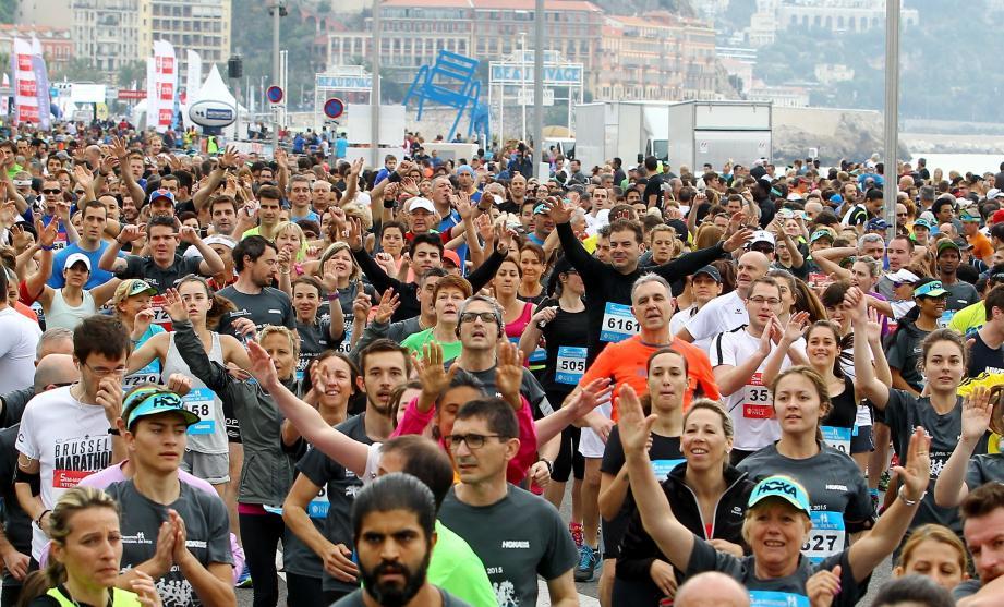 Une foule dense est attendue ce dimanche matin au départ du Running Day de Nice.