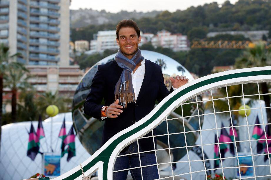 Nadal en lice pour un 11e titre à Monte-Carlo. « Monaco est l'un de mes tournois préférés au monde», a rappelé le Majorquin.
