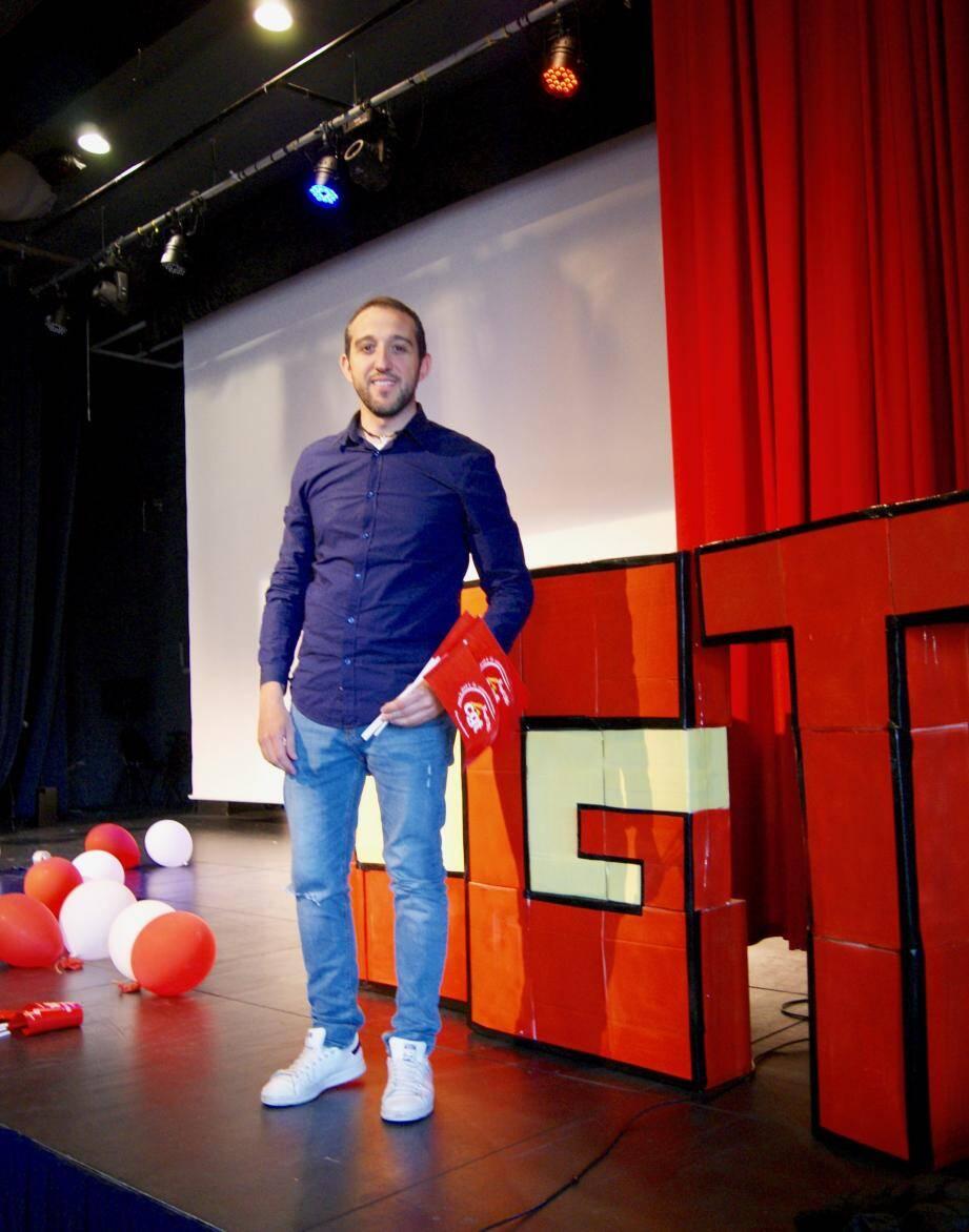 Julien Briol, réélu à l'issue du congrès de la CGT FAPT.