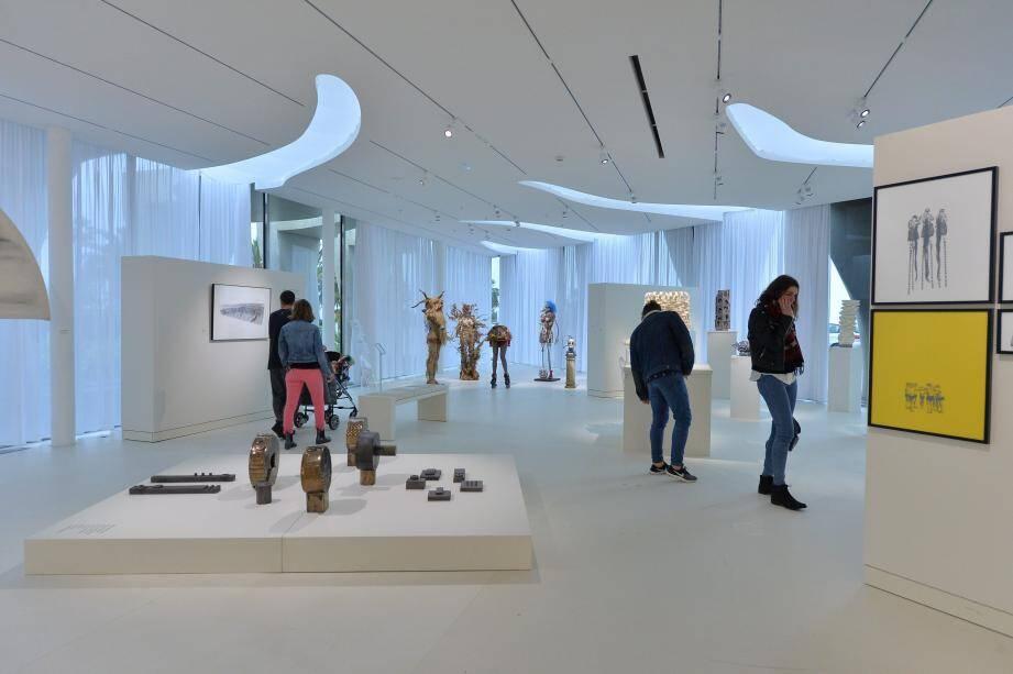 Sculptures, peintures, dessins... des œuvres autour du thème de l'invisible et de la création sont exposées actuellement au musée Jean Cocteau.