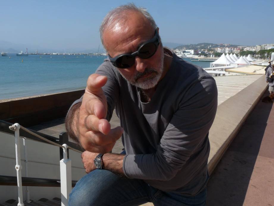 Habitué de la Croisette, Arsène Jiroyan se réjouit de monter au Festival de Grasse, où en tant que Président du jury des courts-métrages, il sera au parfum !