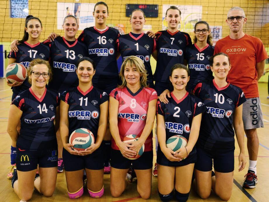 L'équipe féminine de pré-nationale vise l'échelon supérieur.