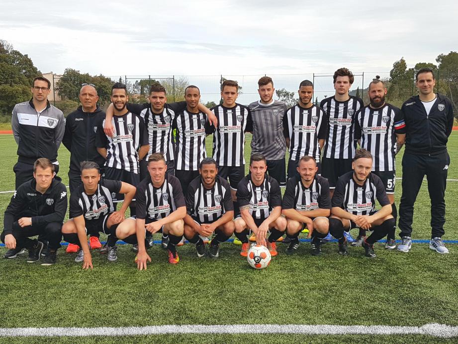 Les footballeurs dracénois récompensés de leurs efforts face à Port-de-Bouc.
