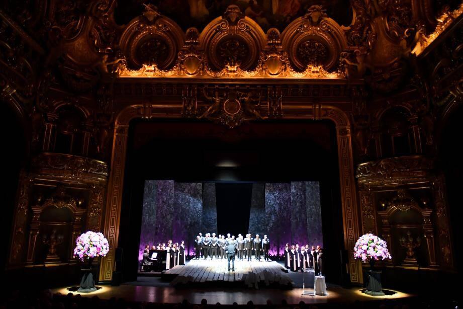 La présentation de la Saison à l'Opéra s'est faite en musique !