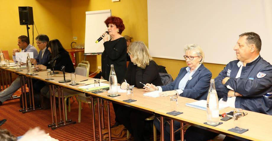 Une réunion organisée par Avenir Cannes Ouest.(Patrice Lapoirie)
