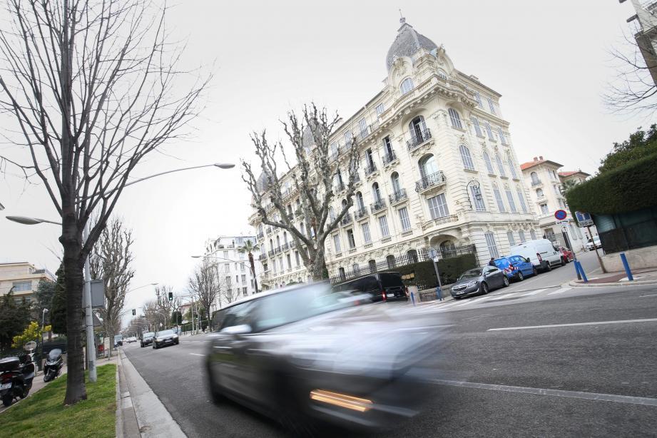 Sur le boulevard du Cimiez, c'est le grand Prix de Formule 1 avant l'heure.