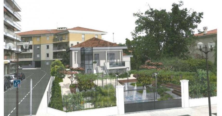 La maison Arnaud transformée en extension du conservatoire.(Projection Ville de Saint-Laurent-du-Var)