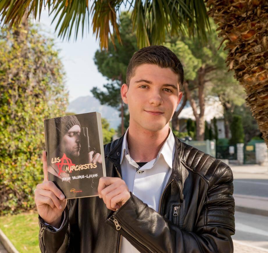 Yohan Delerue-Layani présente son premier ouvrage.