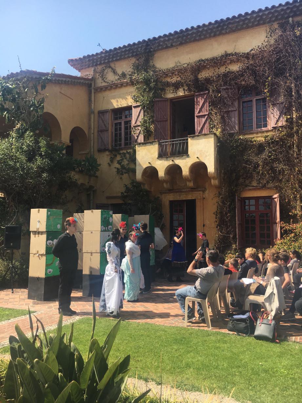 Les jeunes du lycée professionnel Paul-Valéry ont mené à son terme, sur la scène du Val Rahmeh, le projet de « Roméo et Juliette ».
