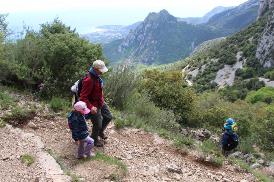 Trois parcours, répartis par niveau, sont possibles pour la randonnée familiale du Critérium. (DR)