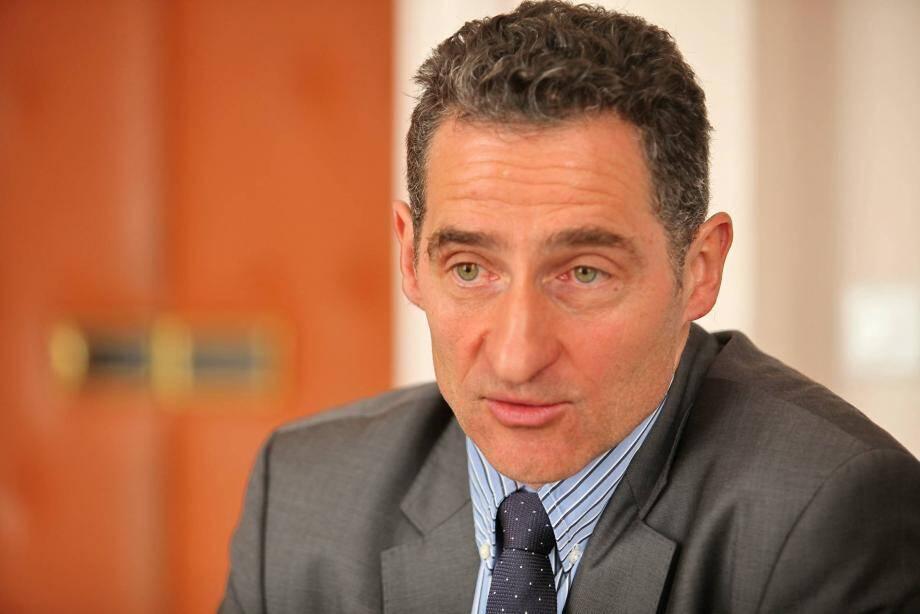 Hervé Stassinos, maire LR du Pradet.