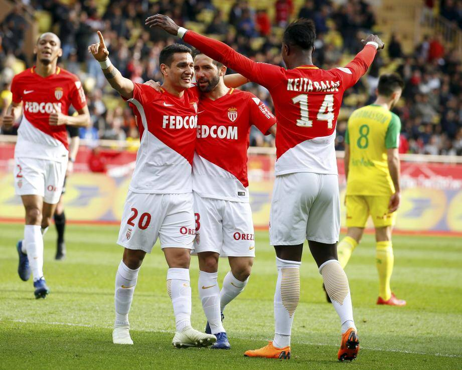 L'AS Monaco a battu Nantes.