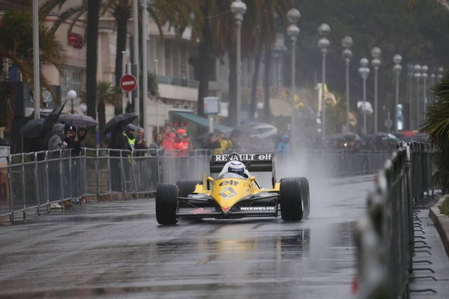 Une première réussie malgré la pluie à Nice.