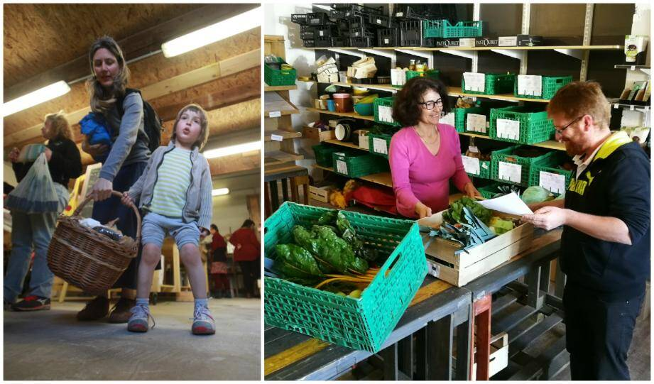 Dans les épiceries coopératives de Grasse et de la Farlède, les clients sont aussi les employés.