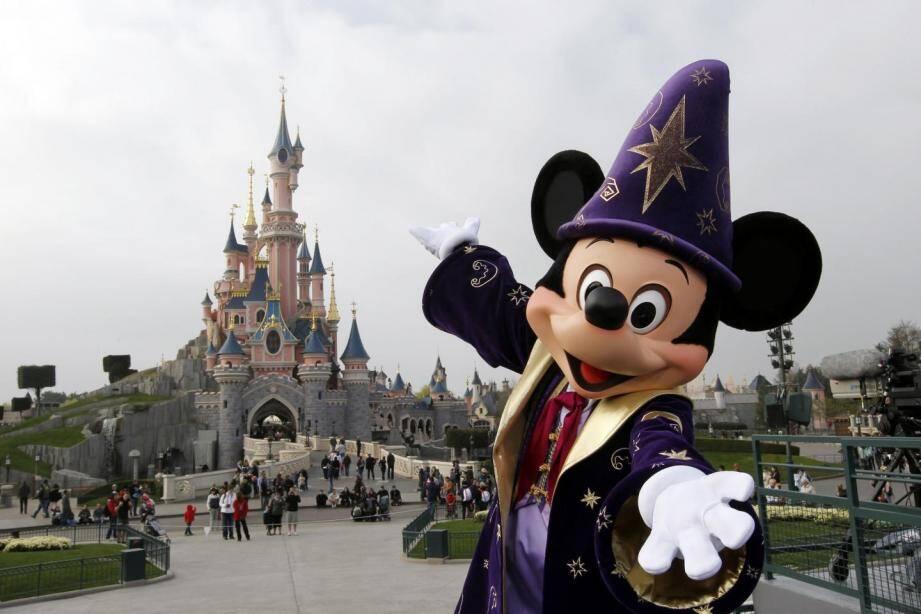 Une photo de Disneyland en 2012.