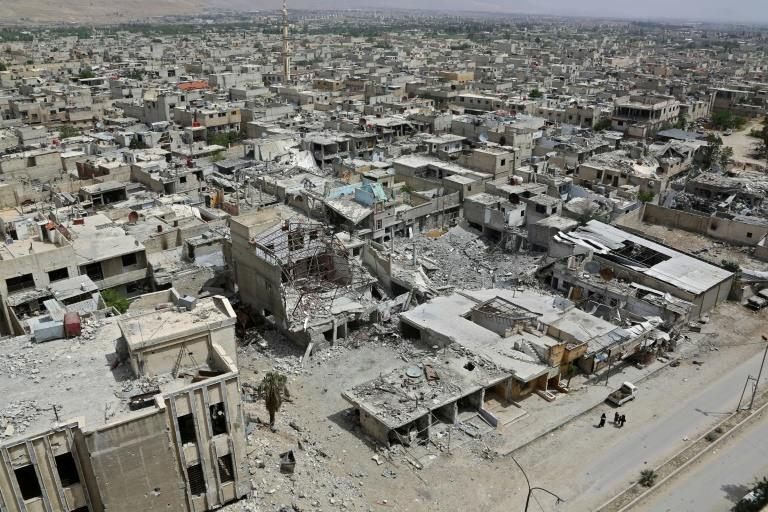 Douma en Syrie.