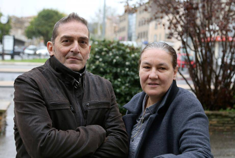 Roberto Faccioli et sa femme