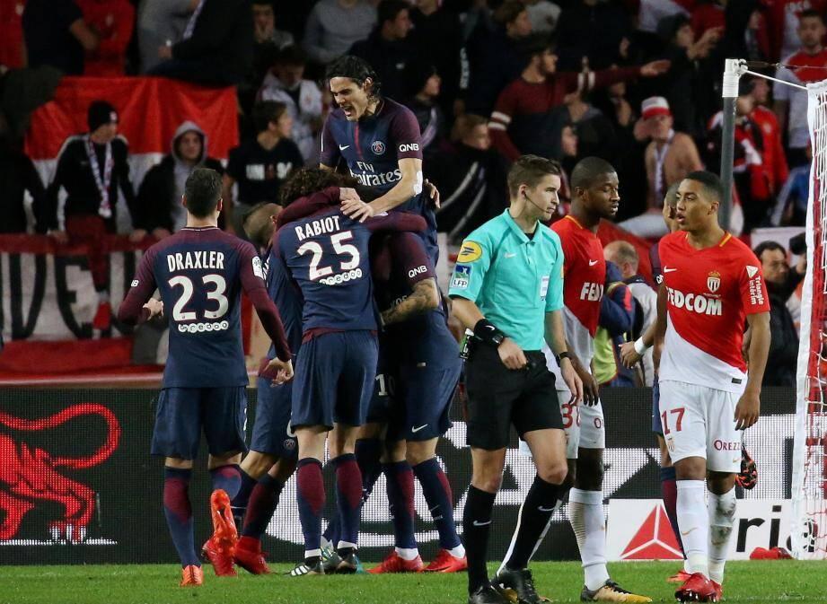 En trois confrontations cette saison, les Monégasques n'ont jamais réussi à rivaliser avec le PSG.
