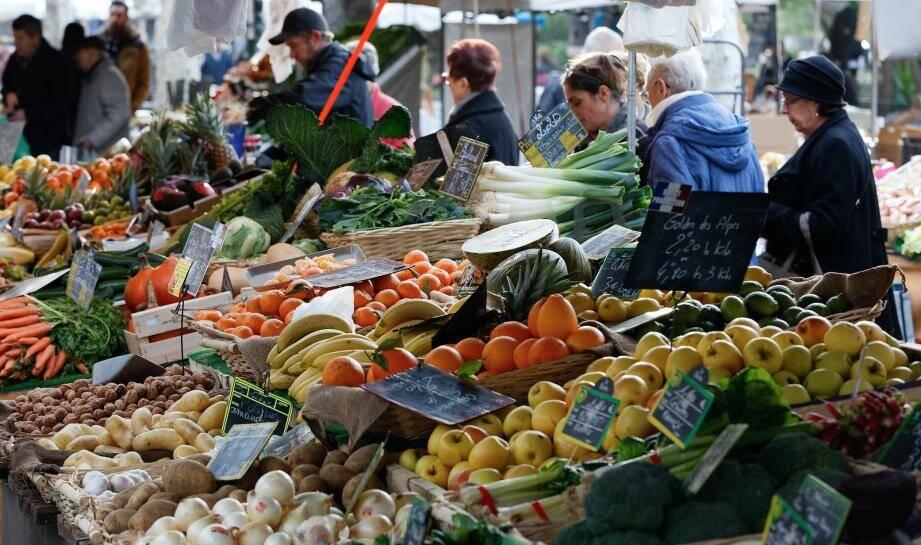 Le marché de Sanary