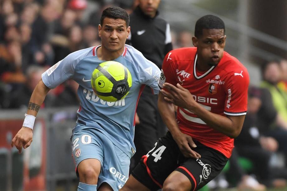 Rony Lopes a inscrit son 11e but en championnat face à Rennes.