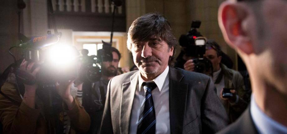 Michel Neyret à son arrivée au tribunal correctionnel de Paris en juillet 2016.