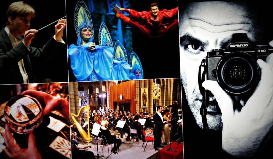 Nikos Alliagas à PhotoMonaco, le Ballet National Russe au Palais de l'Europe, il y en a pour tous les goûts