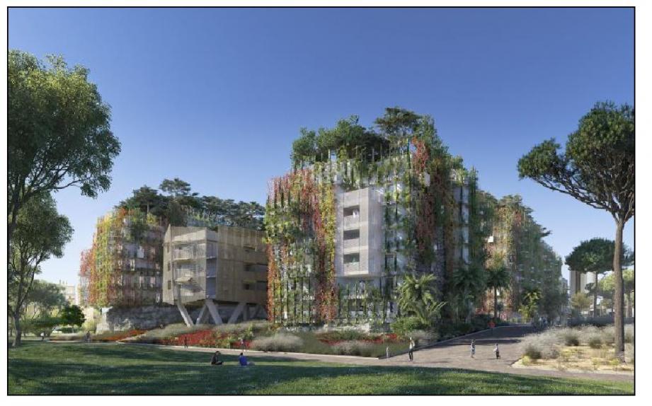 Pas moins de 110 logements ont déjà été vendus dans les futurs immeubles du nouveau quartier.