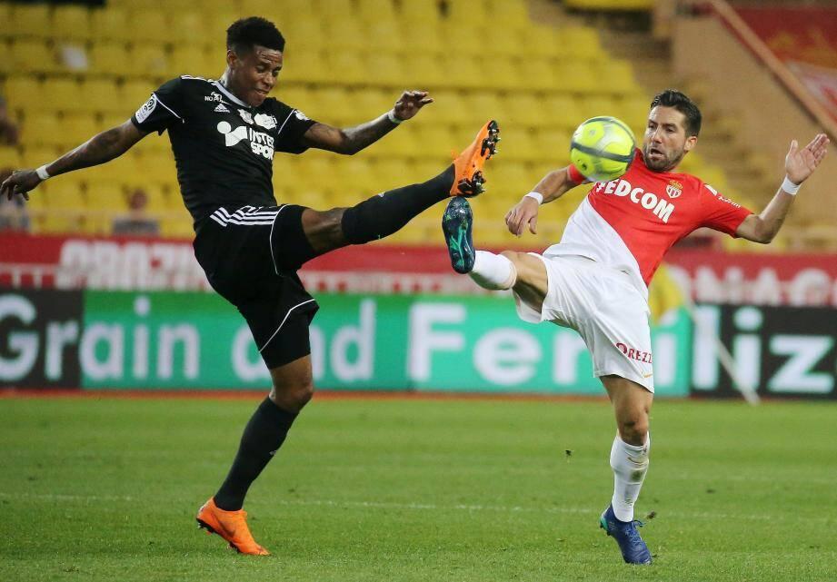 Lors de Monaco -Amiens.