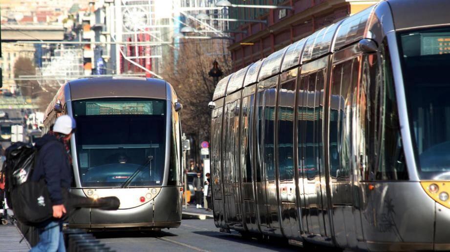 Le tram sera à l'arrêt toute la journée de mardi 9 octobre à Nice.