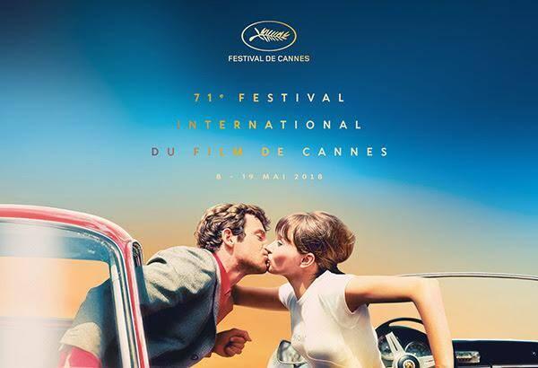 L'affiche du Festival de Cannes 2018.