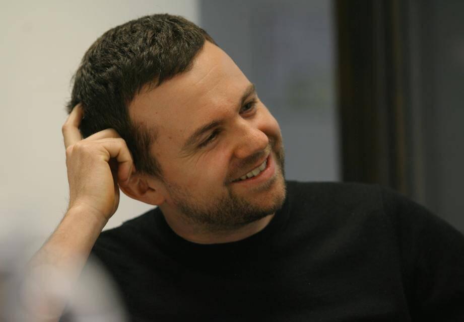 Yann Gonzalez en 2010 à la médiathèque d'Antibes.