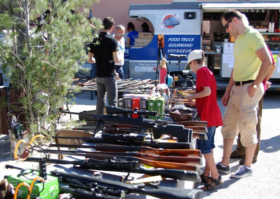 La Fête de la chasse, organisée par la société L'Azur a remporté un beau succès.