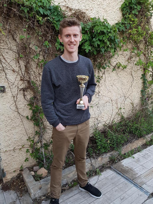 Fabien Dejonghe a signé une arrivée gagnante à Six-Fours en devenant champion du Var le 15 avril à Draguignan.