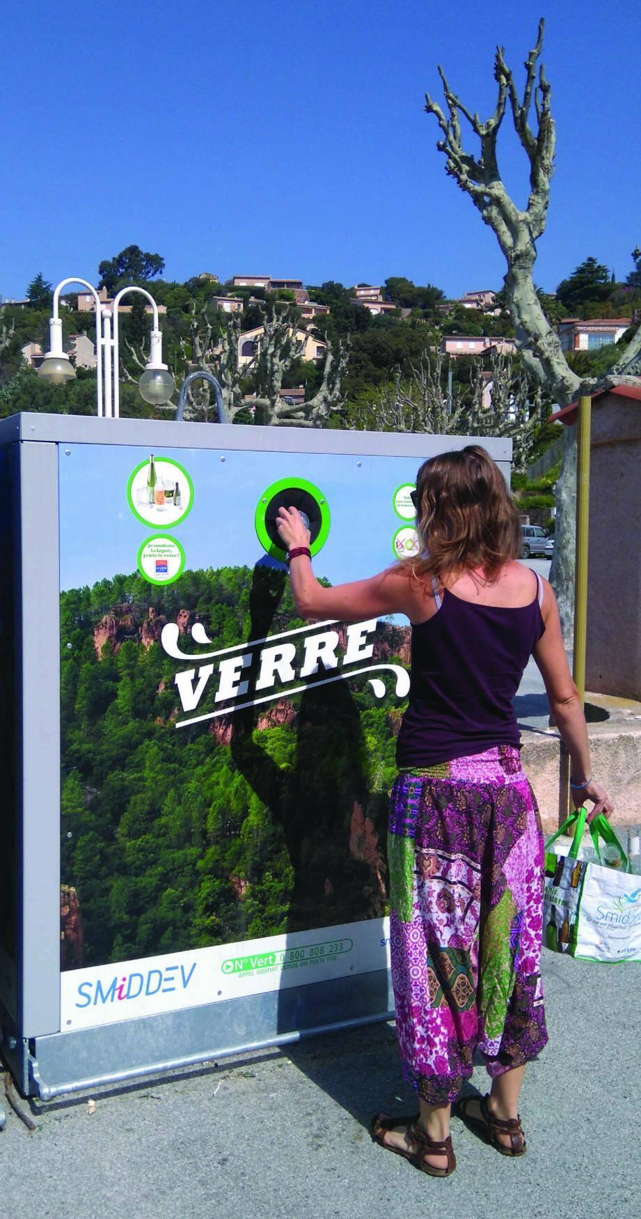 Trier le verre dans le Var, c'est aussi participer à la recherche contre le cancer.(DR)