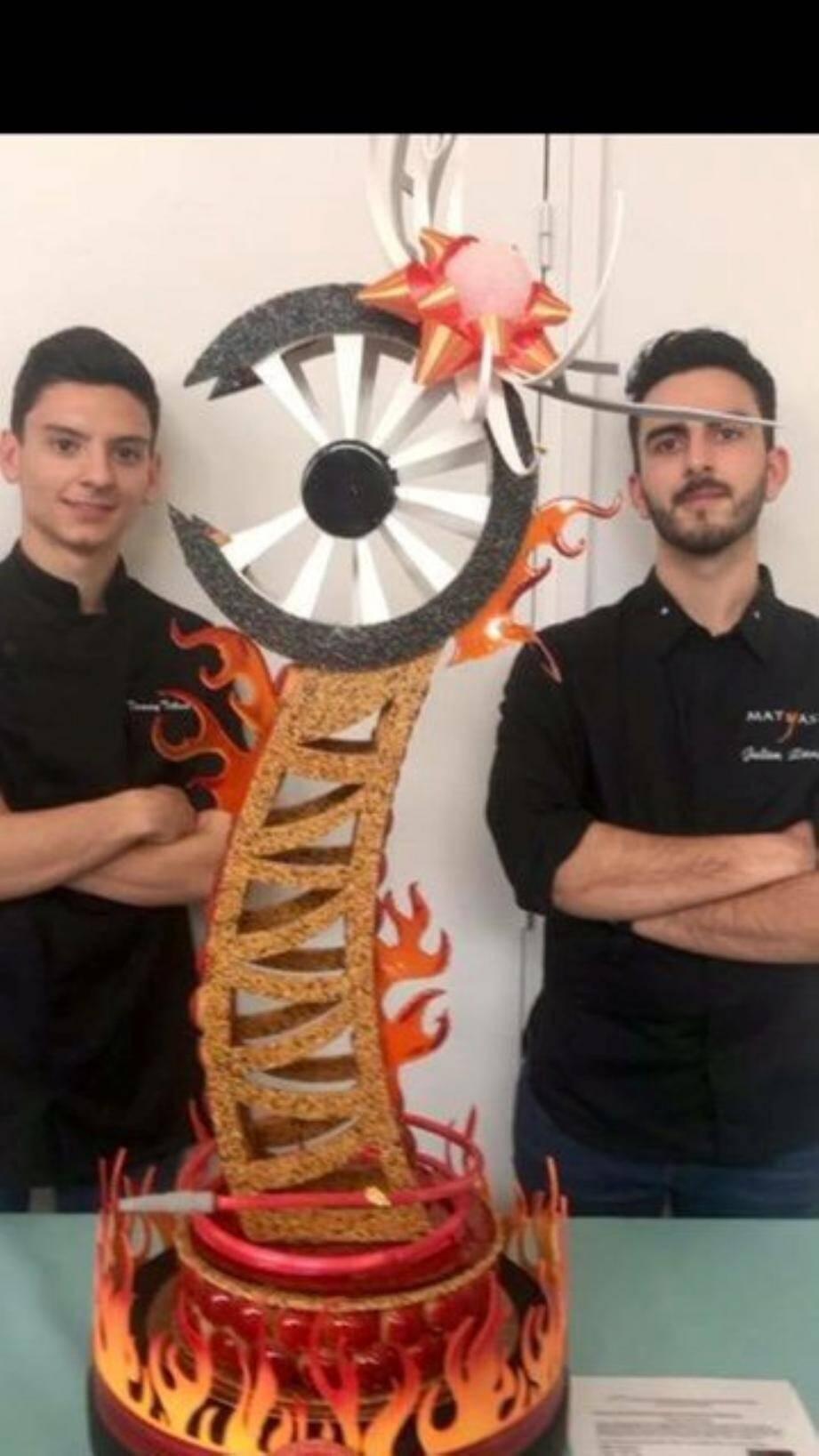 Tommy, à gauche et Julien, à droite.(DR)