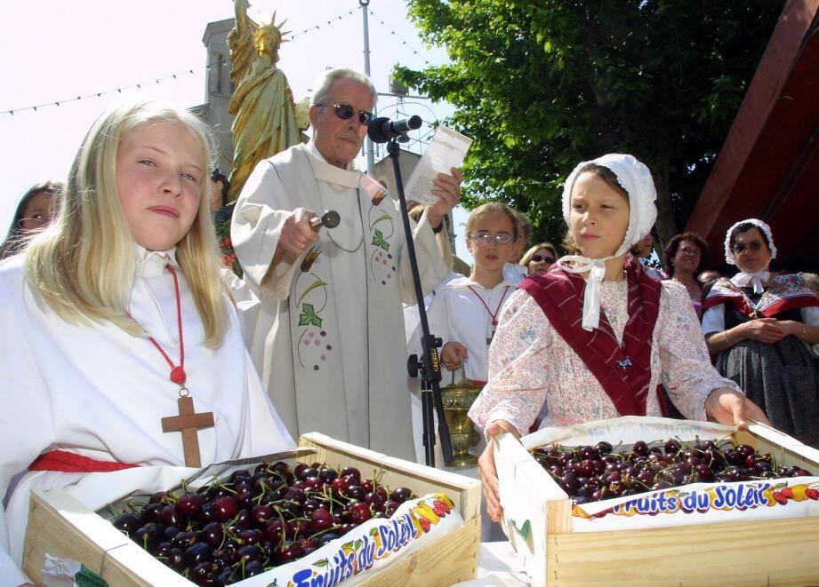 L'un des temps forts de la fête sera la bénédiction des cerises, jeudi.